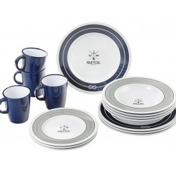 Set tanjuri i šalice Nautical