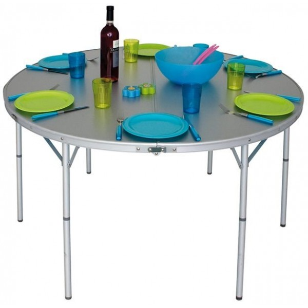 Okrugli sklopivi stol za kampiranje Circle