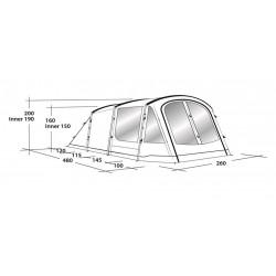 Šator za kampiranje Dayton 4 Outwell